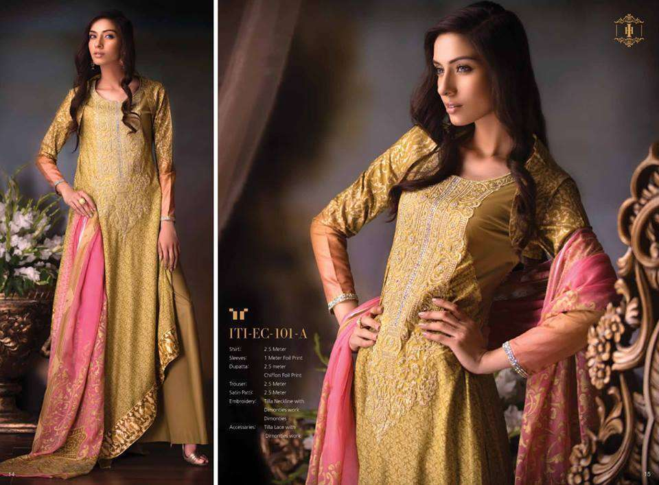 Ittehad Latest Eid Collection 2013