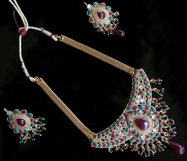 Latest Polki Necklace Designs 2013