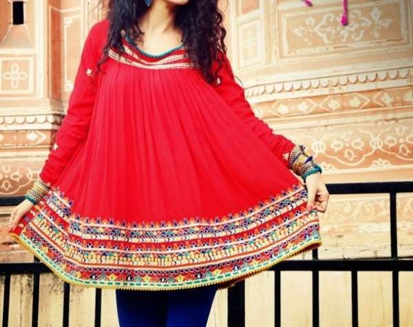 Latest Summer Collection 2013 for Women by Rang Ja 2 600x600 Rang Ja Eid Collection 2013