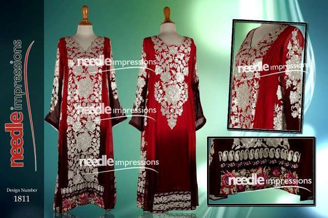 Party Wear Collection 2013 By Needle Impressions - 011 - www.Fashionhuntworld