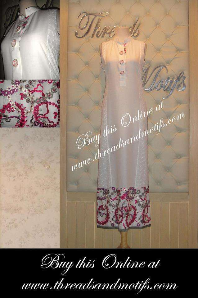 Threads and Motifs Latest Eid Collection 2013