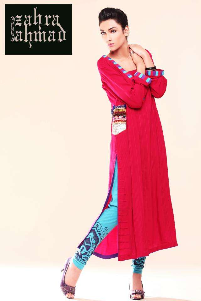07f55c6c8fb9 Zahra Ahmad lunched exclusive outfit in her latest collection that offers casual  wears