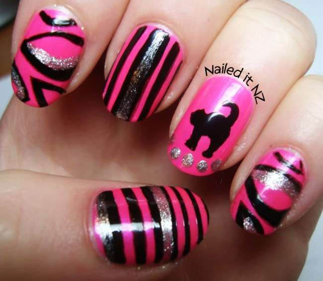 Nail Polish Cat Design The Best Inspiration For Design And Color