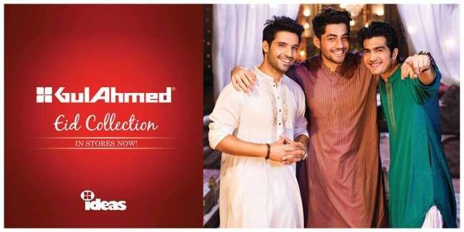 1098118 630242573652460 529507501 n Gul Ahmed Ideas Eid Collection 2013 for Men and women