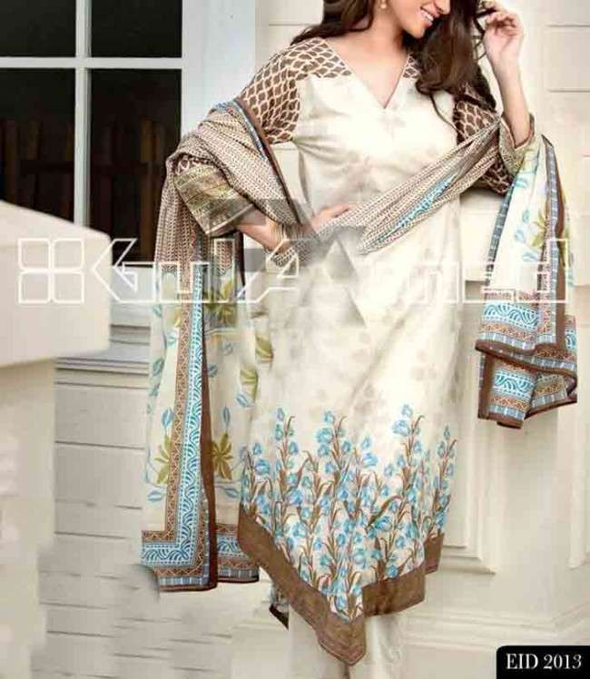 GULAHMED EID COLLECTION 2013 22 Gul Ahmed Ideas Eid Collection 2013 for Men and women