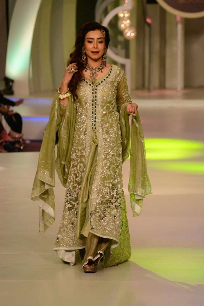 latest wedding collections pantene bridal couture week