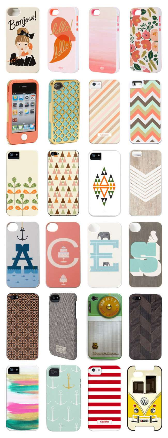 rchristine com accessories technology iphone5 iphonecase ipodcase iphonecover iphoneskin anthropologie clarenicolson riflepaperco cuptakes society6 Latest iPhone Covers Of 2013