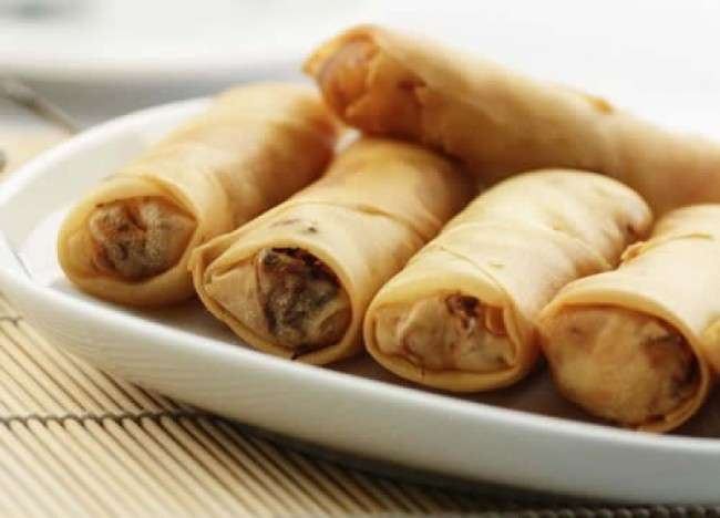 Recipe Of Homemade Spring Rolls