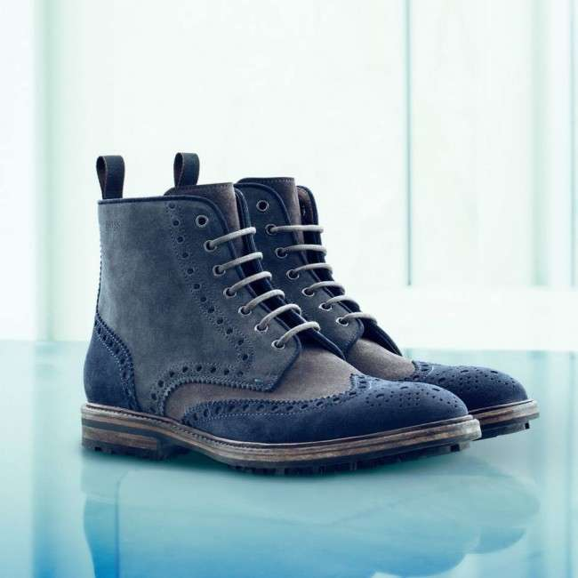 Hugo-Boss-is-Foot-Wear-fall-collection-2013-for-men-and-women-Leather-ankle-boot-monk-shoe-T-Strap-Heels-2