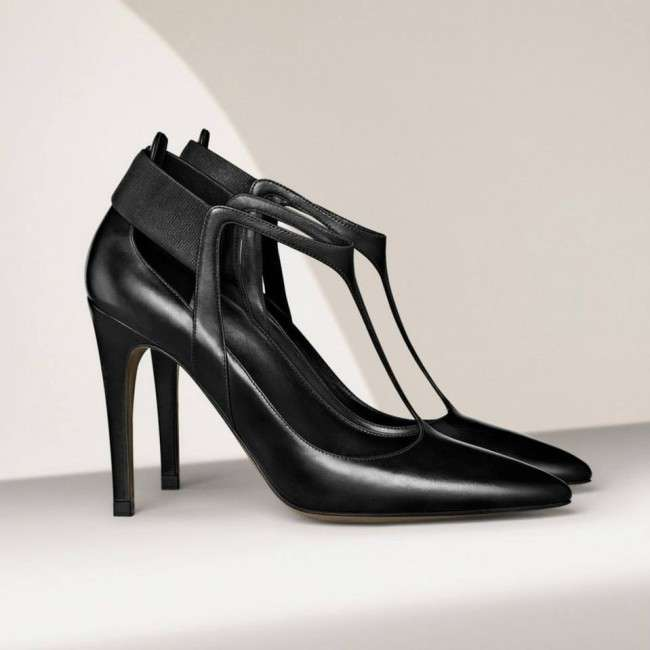 Hugo-Boss-is-Foot-Wear-fall-collection-2013-for-men-and-women-Leather-ankle-boot-monk-shoe-T-Strap-Heels-6