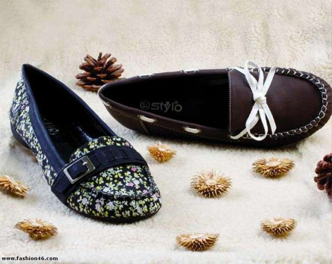Latest Stylo Winter Shoes Collection For Women Stylo Shoes Winter Collection 2013