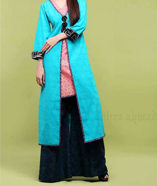 New-Beautiful-Beat-The-Heat-Dresses-By-Zahra-Ahmad-For-Ladies-2013-5
