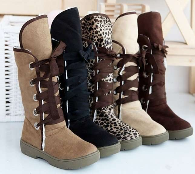 stylish winter boots collections 2013
