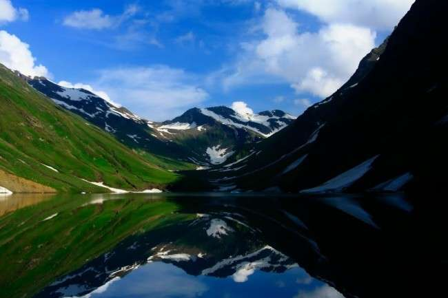 saral lake beautiful valley Famous Valleys of Pakistan