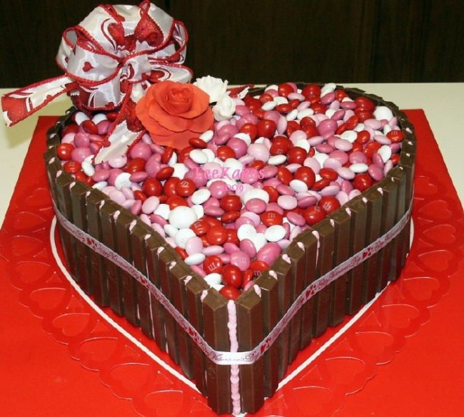 Special Cakes And Heart Made Cookies Are Made On Valentineu0027s Day. Even The  Cakes Are Made According To Demand On Special Order. On Valentineu0027s Day It  Is A ...