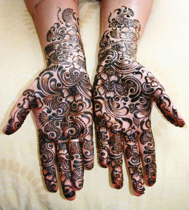 Arabic Mehndi desings 11 Mehndi Designs 2014