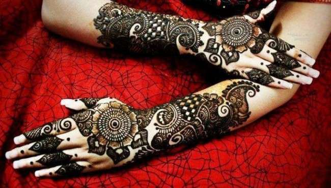 Beautiful Henna Mehndi Designs 2013 for Brides 6 Mehndi Designs 2014