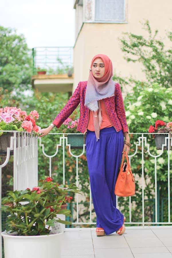 Hijab Styles With Blazers