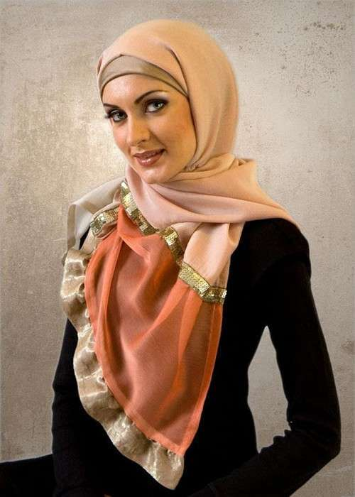 Latest fashion for girls hijab trends 2014 Hijab fashion trends style turkish