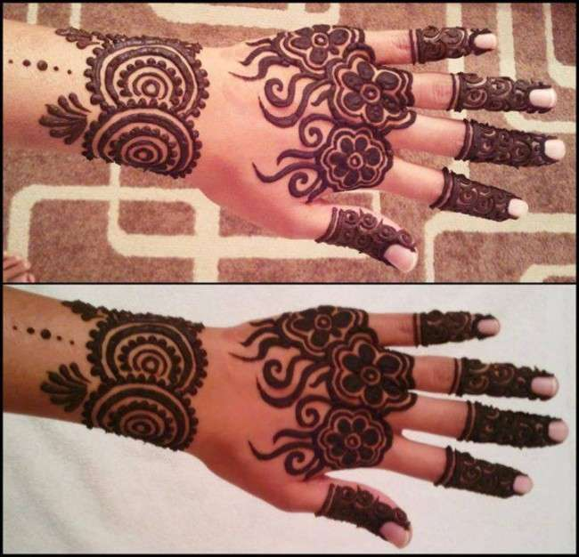 Simple Mehndi Designs 20141 Mehndi Designs 2014