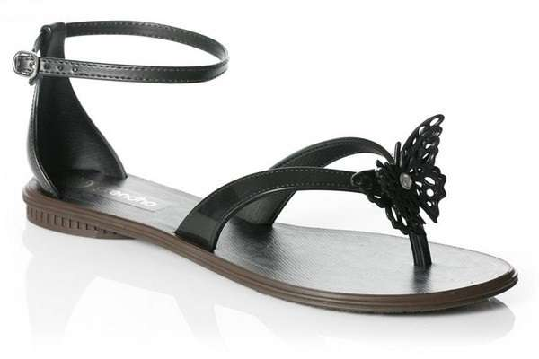 Unze Flat Sandals Collection 2013 For Ladies 9 Stylo Shoes Winter Collection 2014