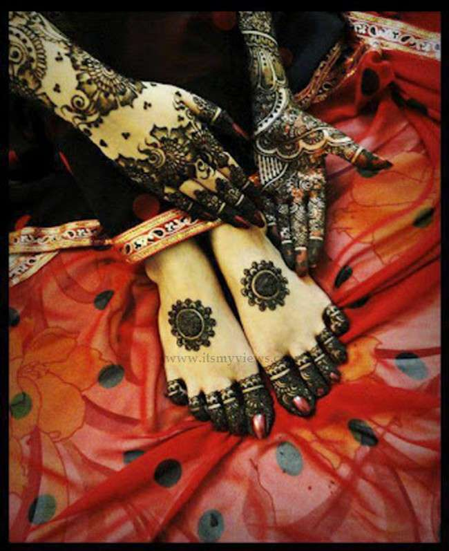 latest henna mehndi designs for brides 2013 2014 Mehndi Designs 2014