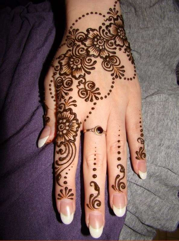 simple and elegant arabian mehndi designs 2014 72 Mehndi Designs 2014