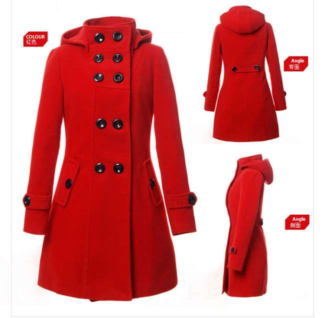 Winter Collection of Long Coats for Women 2014