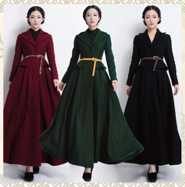 5834e4324 Winter Collection of Long Coats for Women 2014