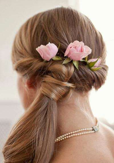 bride beauty fashion Latest Hairstyles for Girls 2014