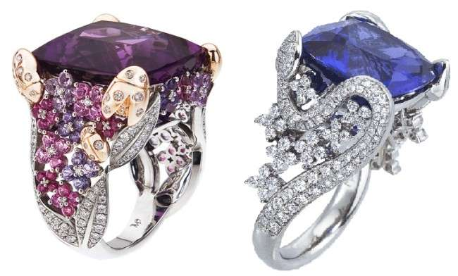 Expensive Sapphire Cocktail Rings