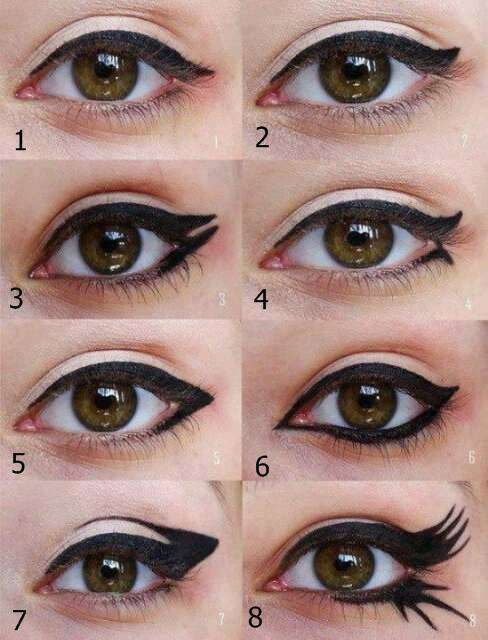 How to open up eyes with makeup