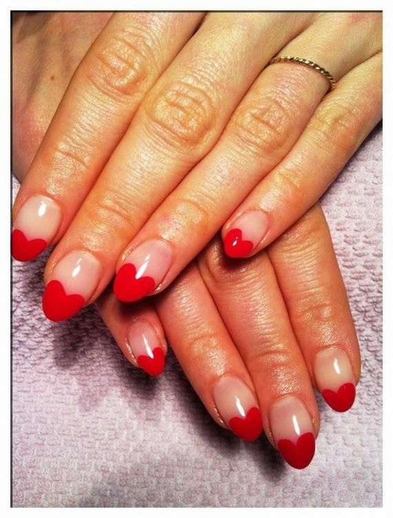 valentines nail art nail designs for s day 31578
