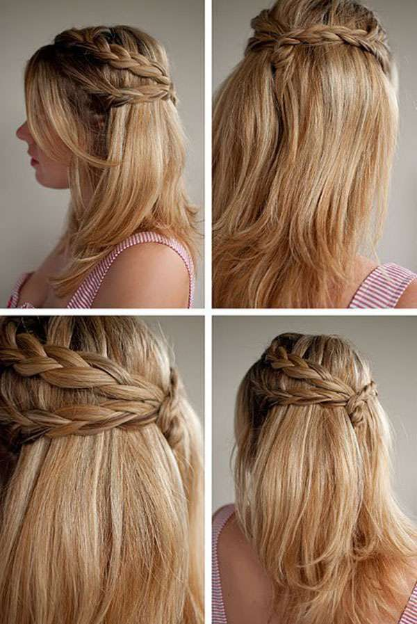 So Scroll Through This Amazing List Of Stylish And Easy Hairstyles And Give  Your Hair A Complete New Look. These Hair Styles Can Easily Go With A  Casual And ...