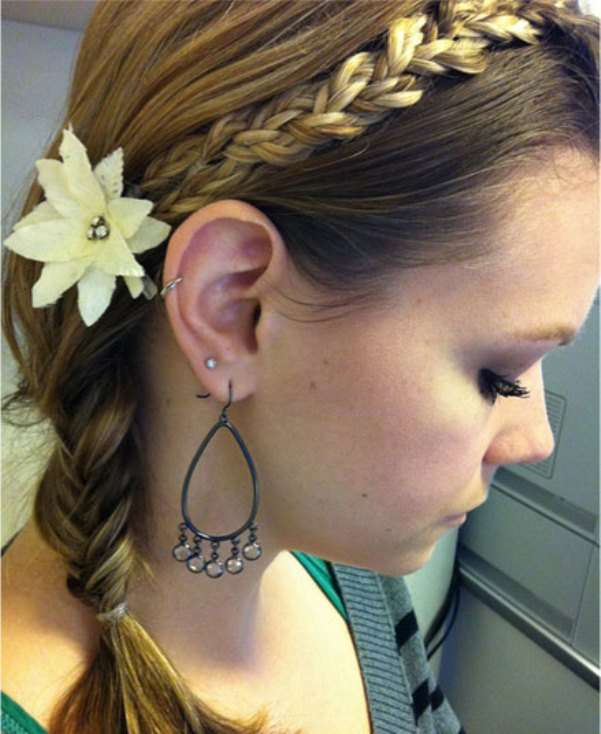 cute girl hairstyles short hair : Pics Photos - Cute And Easy Flower Girl Hairstyles For Weddings