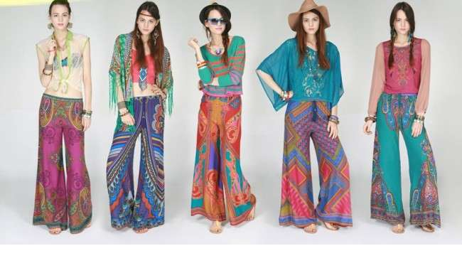 Palazzo  Pants Collection of Palazzo Pants with Short Shirts 2014