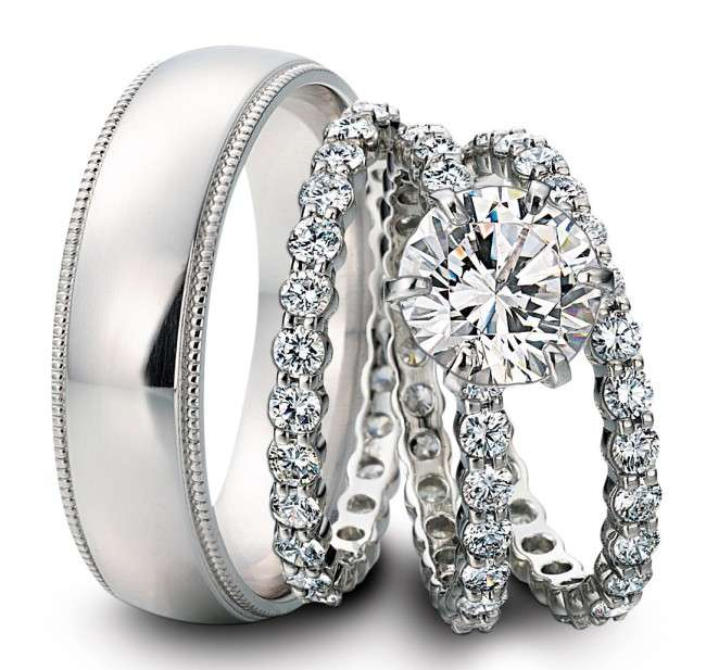 Top Wedding Rings Designs 2014
