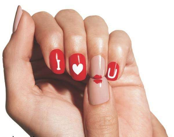 Nail Art Designs For Valentines Day