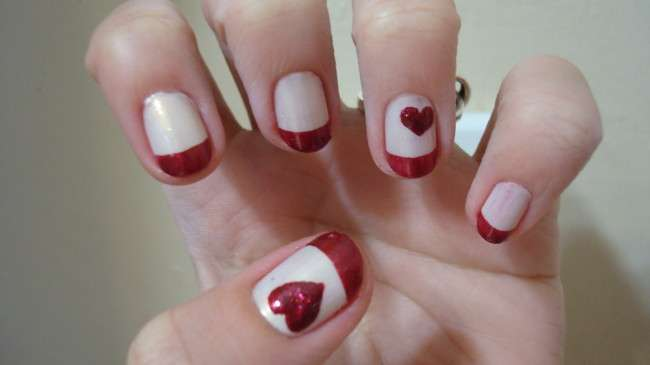 Easy nail art designs for valentines day valentine s day nail nail art designs for view images prinsesfo Images