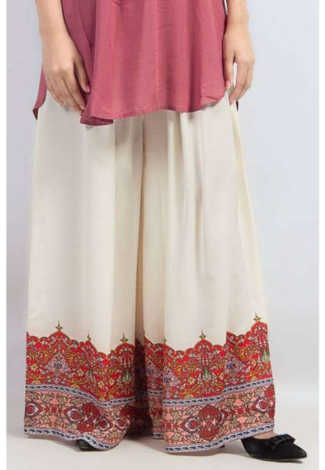 Collection Of Palazzo Pants With Short Shirts