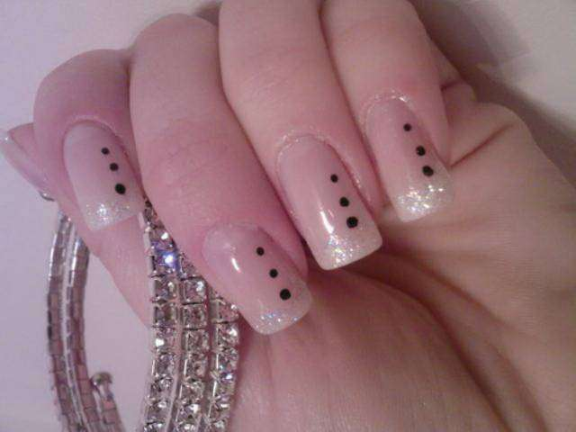 Easy Nail Art Designs for School Girls