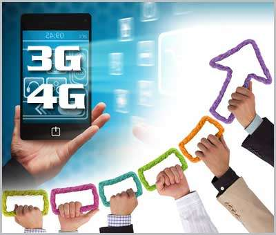 Effects of 3G and 4G Technology on the Economic Growth