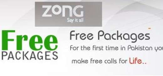 Zong Free Packages