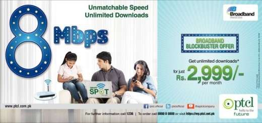PTCL_8Mbps_Blockbuster_package Details