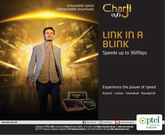 PTCL CharJi Evo Packages & Features