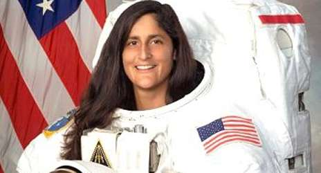 thumbsunitawilliamsphot First Female Astronaut Sunita Williams Accepted Islam